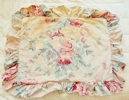 VTG RALPH LAUREN Pillow Sham Cover ELSA Grasslands ? Floral Standard Dis... - $129.95