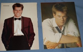 Kevin Bacon Pin Up Poster Lot of two (2) Pics Footloose Hunk Following O... - $9.98