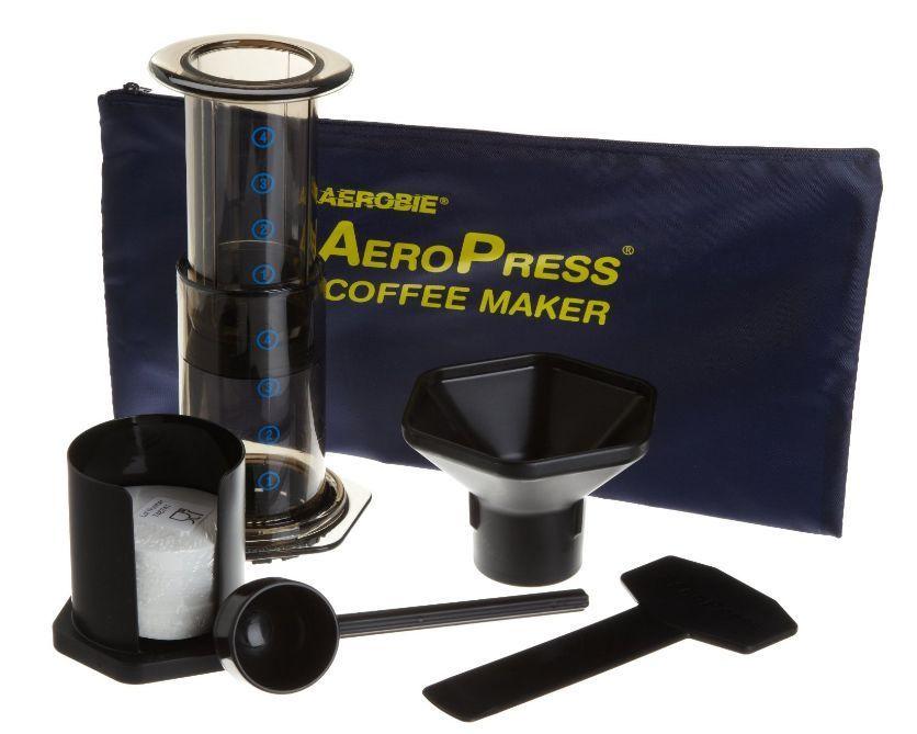 Aeropress Coffee Maker Movie : Aerobie AeroPress Coffee Maker with Tote Bag Espresso - French Presses