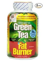 Green Tea Fat Burner, Maximum Strength with 400 mg, Fast-Acting, Pack of 2 - $25.73