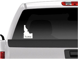 Idaho Happy Home State Vinyl Car Decal, Car Sticker-Multiple Colors-Free... - $10.00