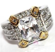 Elegance Ladies Clear Creation Cubic Zirconia Cz Prom Dressy Womens Gala... - $38.99