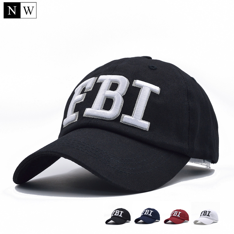 7e136cf24f5 2017 fbi caps outdoor 5 panel baseball cap brand snapback hat bone fbi  snapback for men