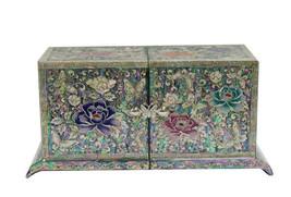 Mutter der Perle Holz Handarbeit Perlmutt Schmuck Fall jewel Box #1687 - $188.31