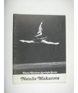 Natalia Makarova Dance Horizons Spotlight Series 1975 Ballet Booklet The... - $34.64