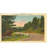 Snoqualmie Pass Highway No 10, Washington, unused linen Postcard  - $5.99