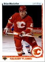 Brian MacLellan 1990-91 Upper Deck Card #372 - $0.99