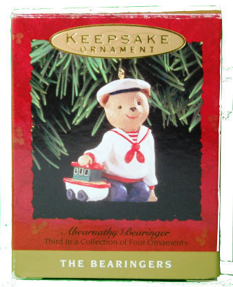 Primary image for Hallmark Abearnathy Bearinger 1993 Ornament