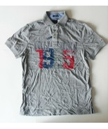 Tommy Hilfiger Mens Polo Shirt Gray Size Small NWT - $38.79
