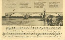 France, Avignon, Le Pont Saint-Benezet, 1931 used Postcard CPA  - $5.35