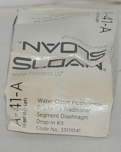 Sloan Water Closet Flushometer Repair Kit Traditional Segment Diaphragm