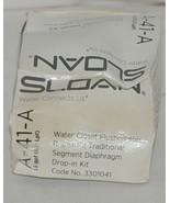 Sloan Water Closet Flushometer Repair Kit Traditional Segment Diaphragm - $24.61