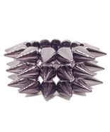 FREEBIE - Gunmetal Acrylic Stretch Bracelet wit... - $0.00