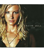 Faith Hill CD Cry 2002 - $1.99