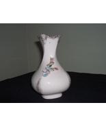 "Lefton China bud vase Forget-me-not 5 1/2"" - $15.00"