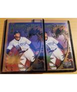 Alex Rodriguez 2x lot 1998 Skybox Metal Universe Diamond Heroes #4 Marin... - $4.00