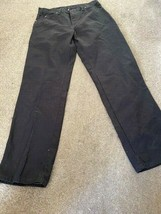 Dickie Work Pants Pre-Owned. Black Mint Condition - $14.00