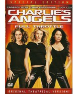 Charlie's Angels Full Throttle DVD Cameron Diaz... - $8.99