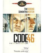 Code 46 DVD Tim Robbins - $2.99
