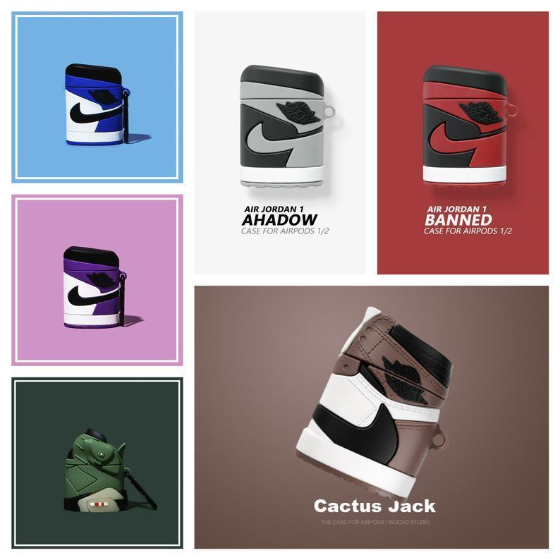 Air Jordan Apple Airpod Gen 1 & 2 Designer Cases Covers - $16.99