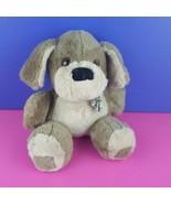 "Dakin Plush Gray Dog 1984 Vintage Stuffed Animal 10"" Puppy  - $26.73"