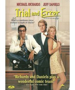 Trial And Error DVD Jeff Daniels Charlize Thero... - $2.98