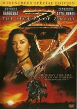 The Legend Of Zorro DVD Antonio Banderas Catherine Zeta-Jones Special Ed... - $2.99