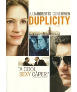 Duplicity DVD Julia Roberts Clive Owen Tom Wilk... - $2.99