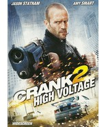 Crank 2 High Voltage DVD Jason Statham Amy Smart - $8.98