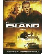 The Island DVD Scarlett Johansson Ewan McGregor Steve Buscemi  - $2.99