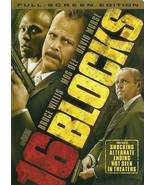 16 Blocks DVD Bruce Willis David Morse - $8.99