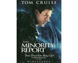 Minority Report DVD Tom Cruise Colin Farrell Samantha Morton 2 Discs