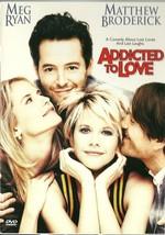 Addicted To Love DVD Meg Ryan Matthew Broderick Maureen Stapleton - $2.99