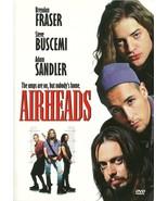 Airheads DVD Brendan Fraser Adam Sandler Steve ... - $2.99