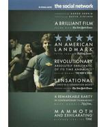 The Social Network DVD Jesse Eisenberg Andrew G... - $2.98