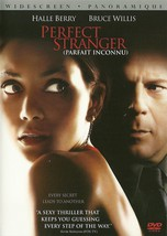 Perfect Stranger DVD Halle Berry Bruce Willis Giovanni Ribisi Widescreen - $2.99