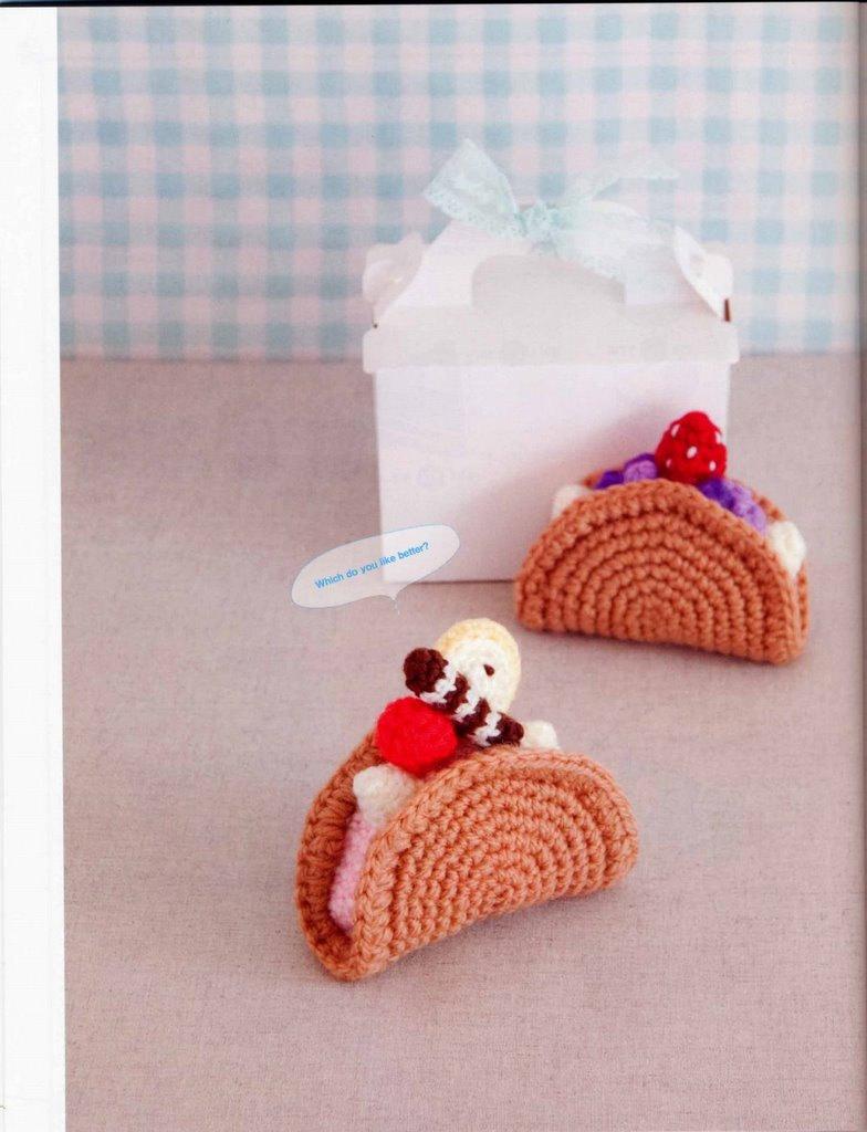 Enlarging Amigurumi Patterns : Amigurumi Sweets 2 Japanese eBook Pattern and 19 similar items