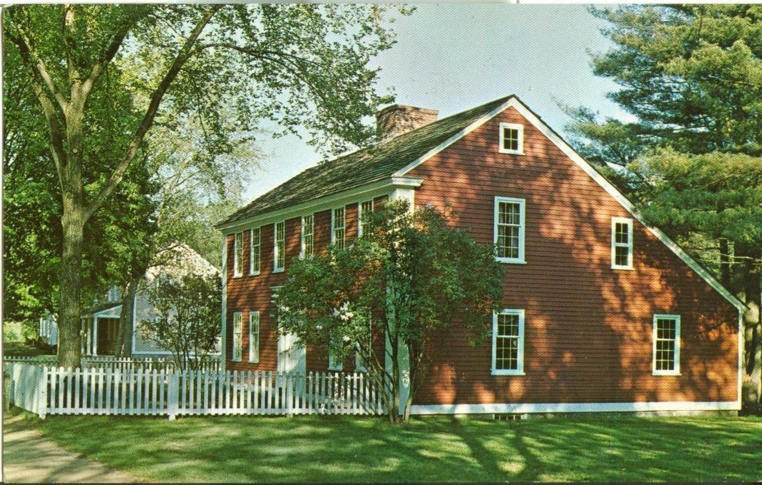 The Solomon Richardson House, Old Sturbridge Village, East Brookfield, Mass