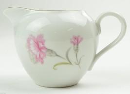 Royal Court Fine China Carnation Pattern Creamer Japan Pink Floral Flowe... - $15.29