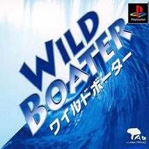 Wild Boater, Sony Playstation One PS1, Import Japan Game - $19.99