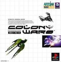 Colony Wars, Sony Playstation One PS1, Import Japan Game - $24.99