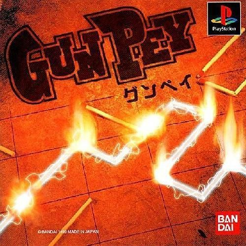 GUNPEY (Gun Pey), Sony Playstation One PS1, Import Japan Puzzle Game
