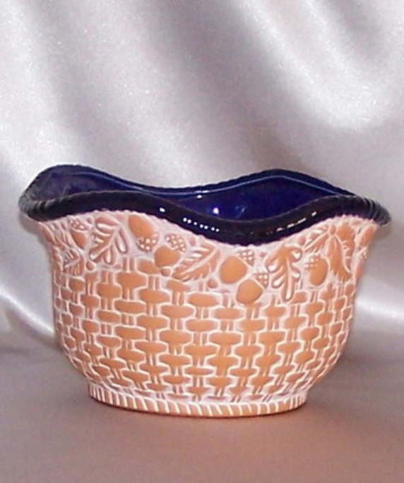 Claire Burke Pottery Terra Cotta Flower Pot Candy Potpourri Bowl