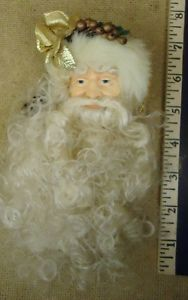 Santa Claus Ornaments Christmas Qty 6