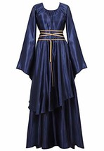 Womens Deluxe Medieval Victorian Costume Renaissance Long Dress Costumes... - $32.87