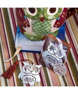 Owl Design Happy Wise Bookmark Wedding Baby Bridal Shower Favors Party R... - $2.58