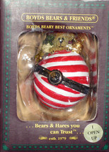 "Boyds Beary Best Ornament ""Owen Bearymint"" #25200 - NIB- 2004 -  Retired - $12.99"