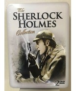 SHERLOCK HOLMES COLLECTION DVD 2008 COLLECTORS TIN GOOD CONDITION - $10.84