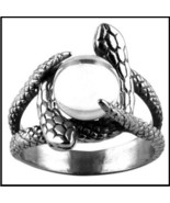 """Snakes"" Outlaw Biker Ring In Stainless Steel! - $22.99"