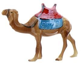 Hagen-Renaker Specialties Ceramic Nativity Figurine Saddled Camel with Blanket image 9
